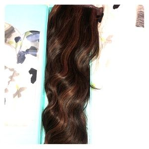 Halocouture hair extensions REAL HAIR!